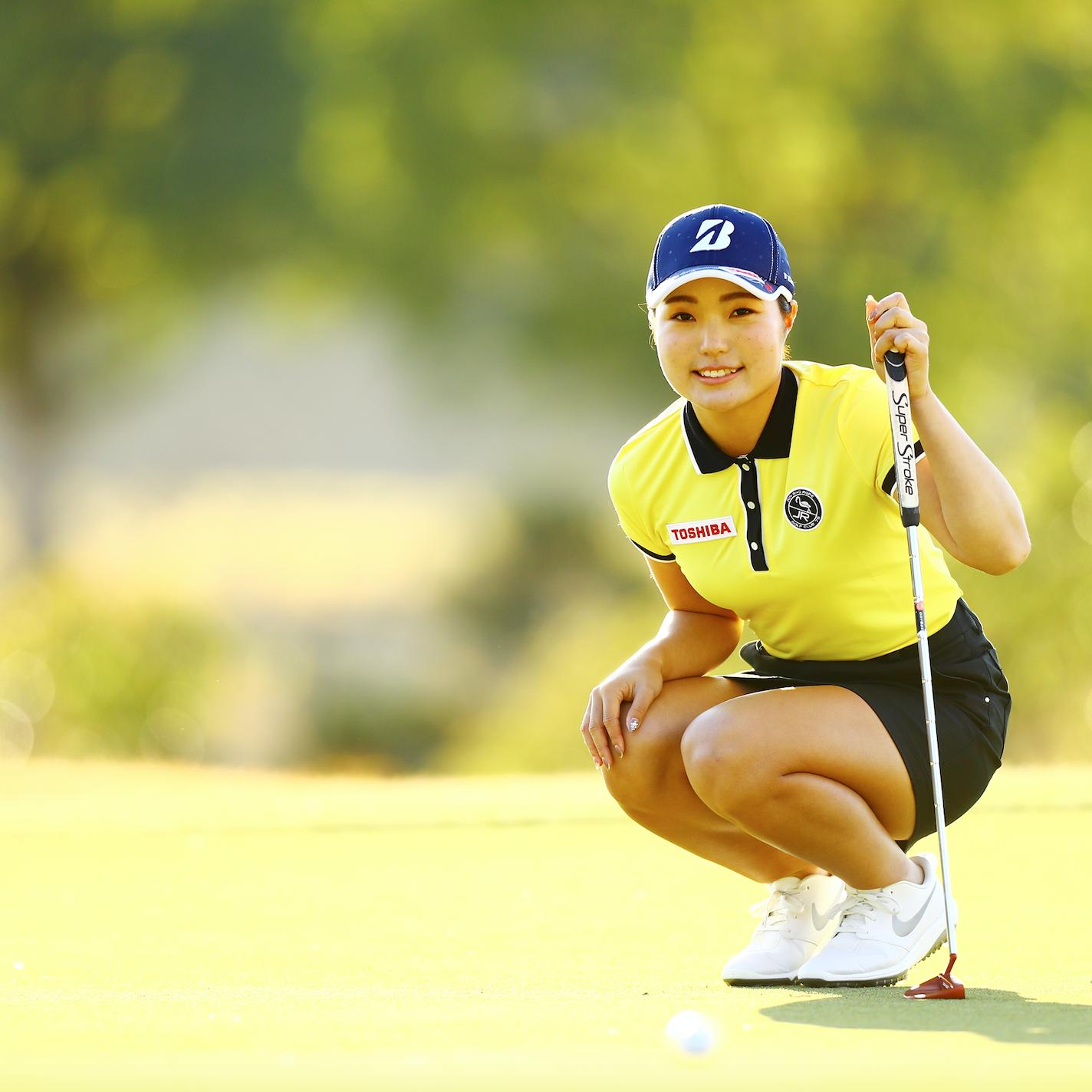 今週、日本女子プロゴルフ選手権